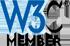 W3C Member icon